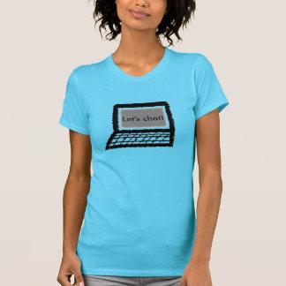 T-shirts Deixe-nos conversar!