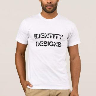 T-SHIRTS DESIGN DA IDENTIDADE