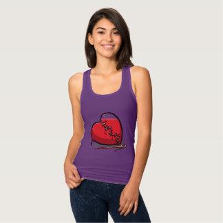 T-shirts Design do coração de sangramento