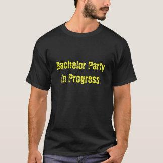 T-shirts Despedida de solteiro em andamento