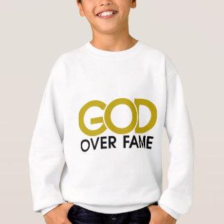 T-shirts Deus sobre o roupa da fama