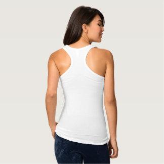 T-shirts Diga algo camisola de alças magro agradável de