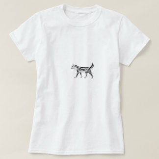 T-shirts Dingo australiano