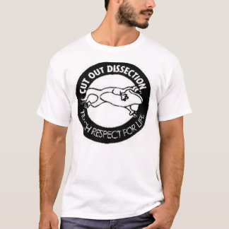 T-shirts Dissecção cortada