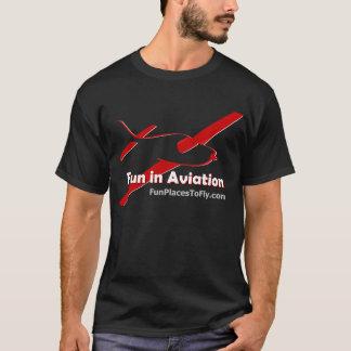 T-shirts Divertimento no Tshirt da aviação