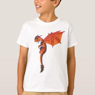 T-shirts Dragão da lava