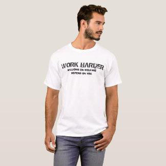 T-shirts Duro do trabalho
