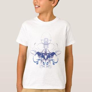 T-shirts Elementos abstratos da flor