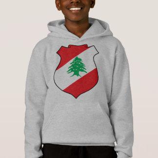 T-shirts emblema de Líbano