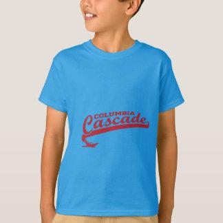 T-shirts Engrenagem da cascata de Colômbia