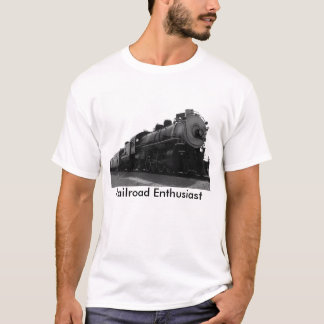 T-shirts Entusiasta da estrada de ferro