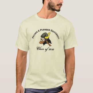 T-shirts Escandinavo engraçado da universidade da pilhagem