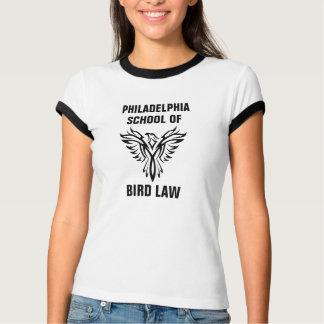 T-shirts Escola de Philadelphfia da campainha do vintage da