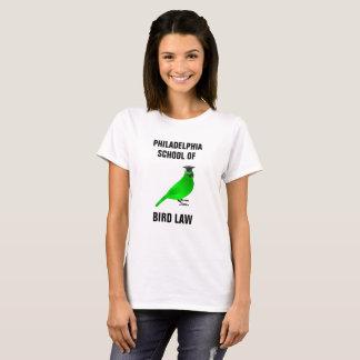 T-shirts Escola de Philadelphfia da lei do pássaro