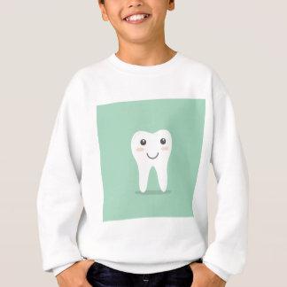 T-shirts Escova de dentes de escovadela do dentista feliz