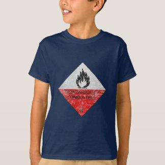 T-shirts Espontâneamente combustível
