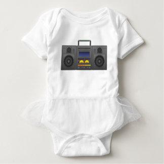 T-shirts estilo Boombox de Hip Hop dos anos 80