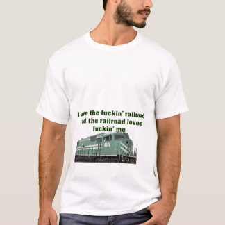 T-shirts Eu amo a estrada de ferro