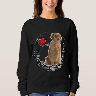 T-shirts Eu amo meu cão do golden retriever