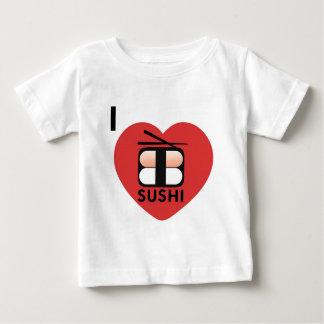 T-shirts Eu amo o sushi