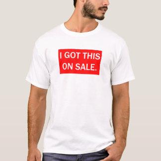 T-shirts eu obtive este na venda