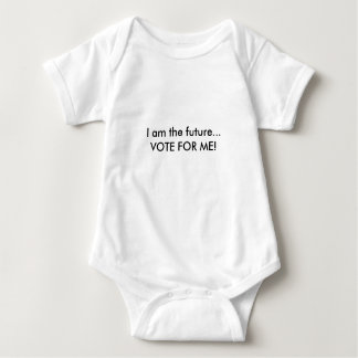 T-shirts Eu sou o futuro, voto para mim - Bodysuit