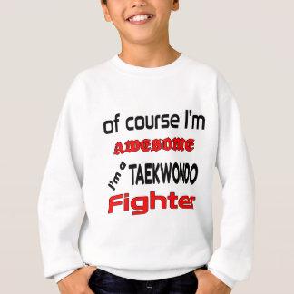 T-shirts Eu sou um lutador de Taekwondo