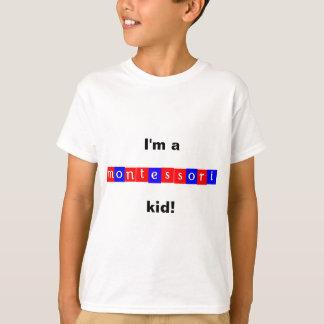 """T-shirts 'Eu sou um miúdo do montessori! """""""