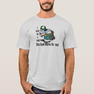 T-shirts Eu trabalho para uma vida