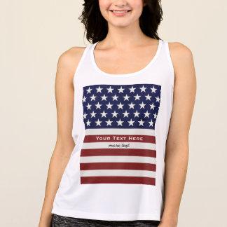 T-shirts EUA bandeira americana costume patriótico do 4 de