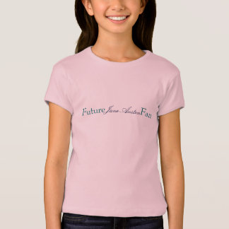 T-shirts Fã futuro, Jane Austen
