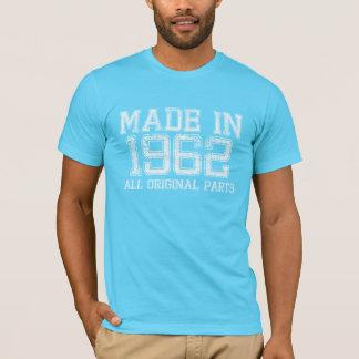 T-shirts FEITO em 1962 todo o T ORIGINAL das peças