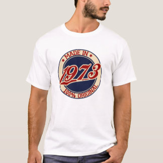 T-shirts Feito em 1973