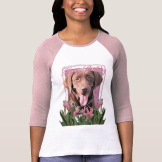 T-shirts Feliz aniversario - Labrador - chocolate