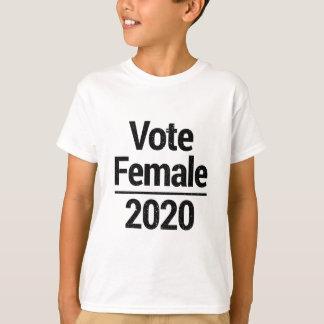 T-shirts Fêmea 2020 do voto