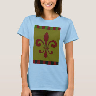 T-shirts Flor de lis