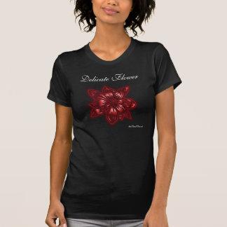 T-shirts Flor delicada