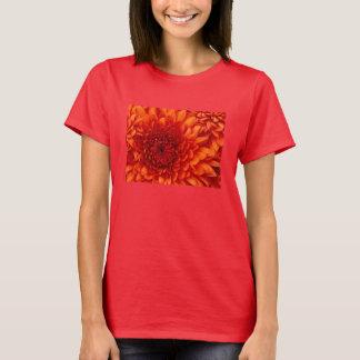T-shirts flor selvagem grande