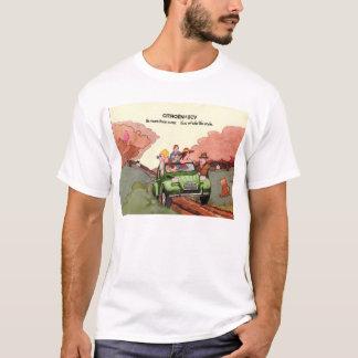 T-shirts Folheto das vendas de Citroen 2CV