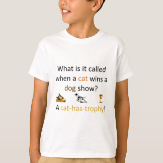 T-shirts Gato-ter-troféu