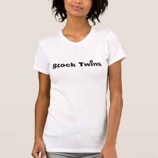 T-shirts Gêmeos conservados em estoque