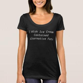 T-shirts Gorduras alternativas