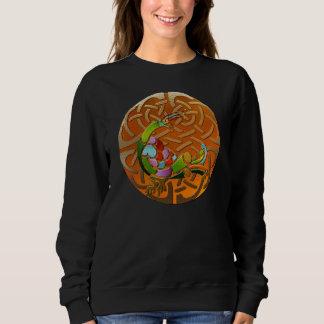 T-shirts Gráfico dobro de Deco do céltico do pavão Jeweled