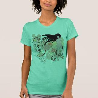 T-shirts Gráfico fêmea