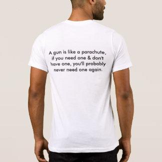 T-shirts Grande T para entusiastas da arma