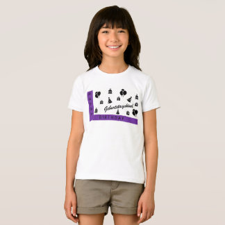 T-shirts Happy Birthday, menino de aniversário/