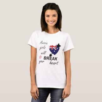 T-shirts Heartbreaker australiano