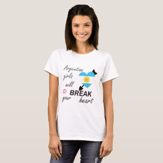 T-shirts Heartbreaker de Argentina