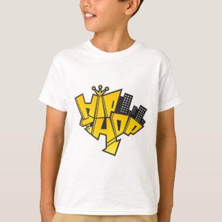 T-shirts Hip-hop logotipo