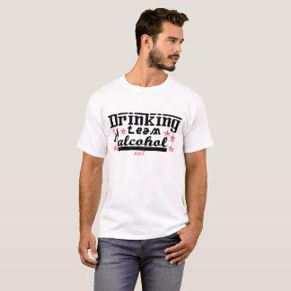 T-shirts Homens do álcool